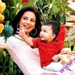 Fauzia With Her Son