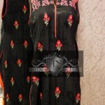 Karahi Work on Clothes for women