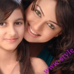 Pakistani Actress javeria Abbasi With Her Daughter