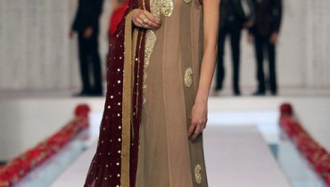 Romance Collection by Deepak Perwani in Bridal Couture Week 2011
