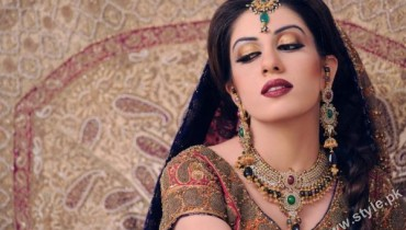 Stylist Khawar Riaz bridal photoshoot