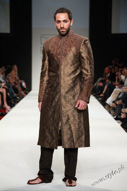 Wedding dresses for men by HSY