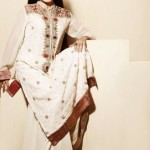 Zarmina Khan's Beyond White by ChikkanKari Lawn Collection 2011