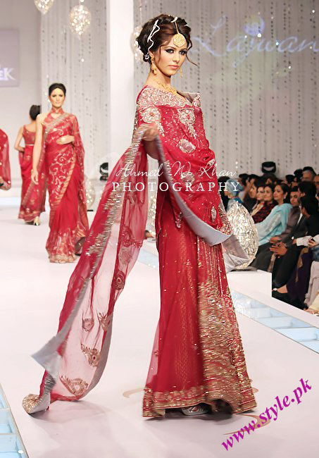 Ayyan in Lajwanti dress at bridal couture week 2011 wedding wear