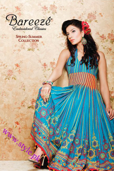 3f95b98116 Bareeze Embroidered Classics Spring/summer Collection 2011