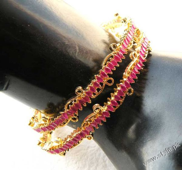 Beautifully Designed Bangles in India for Asian Women trends jewellery