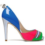 Cute shoes for multi color dress
