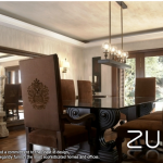 Dining room decoration by the house of zunn