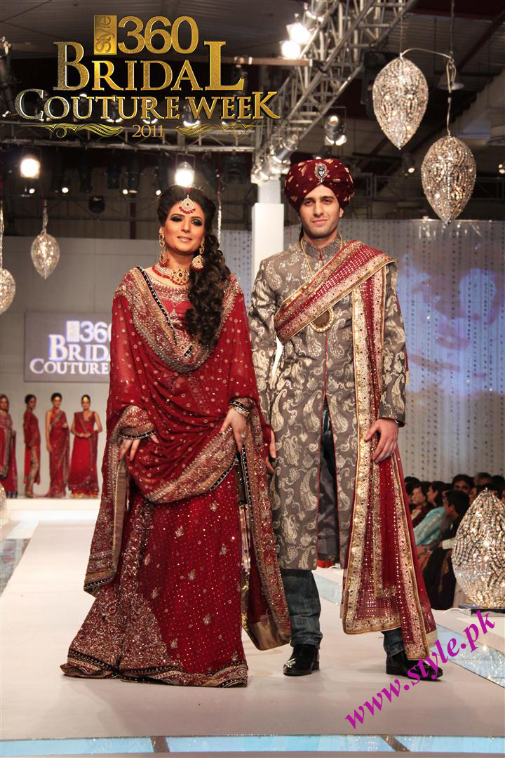 Fashion Designer Lajwanti Bridal Couture Week 2011 wedding wear