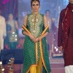 Green Bridal Mehndi Wear