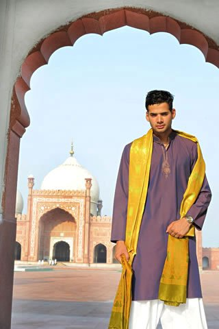 Kurta shalwar for Pakistan men 2011 mens wear 2