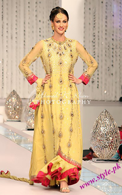 Lajwanti bridal collection 2011 12 wedding wear