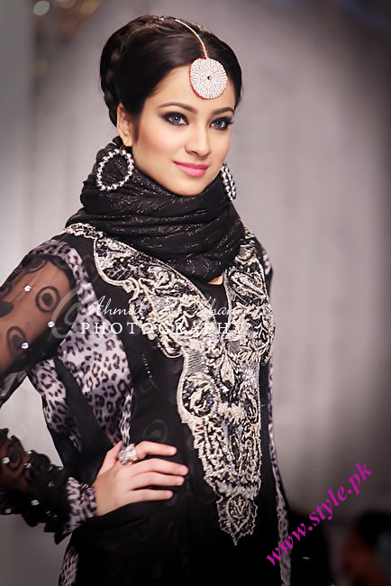 Lajwanti collection at bridal couture week 2011 wedding wear