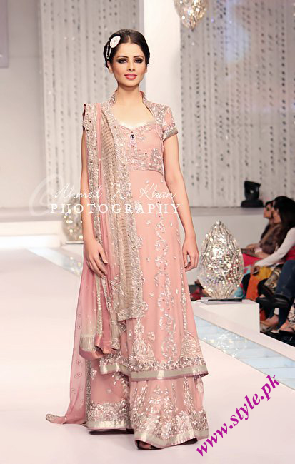 Lajwanti latest long stirts for women wedding wear
