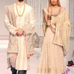 Latest wedding dresses by lajwanti