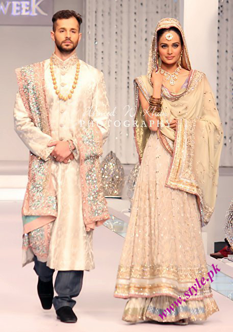 Latest wedding dresses by lajwanti wedding wear