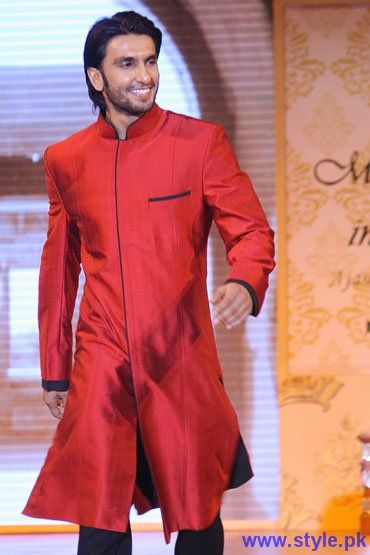 Red Sherwani For Men