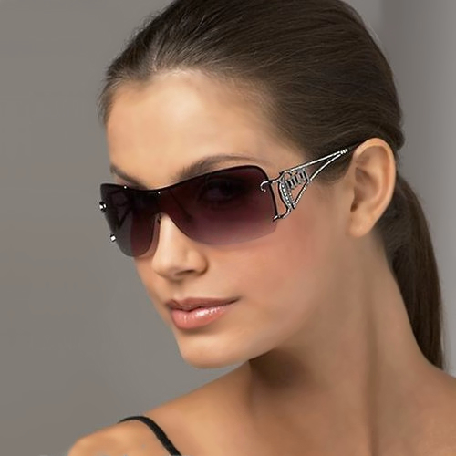 Rimless Sunglasses for Women Style.Pk