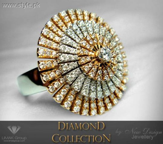 Unique and Stylish Diamond Ring For Girls Latest Jewellery Fashion