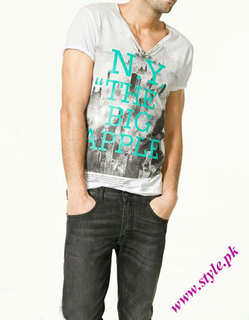 Zara man t shirt collection men wear