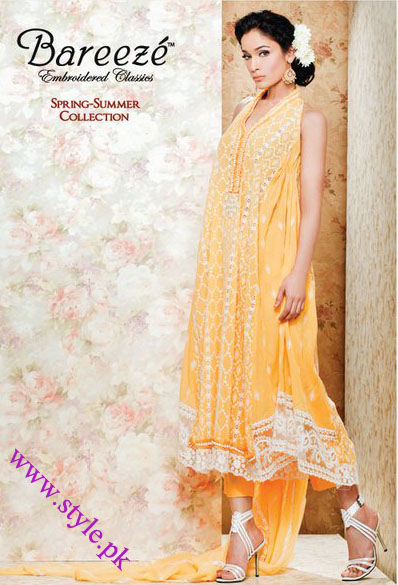 bareeze lawn collection 2011