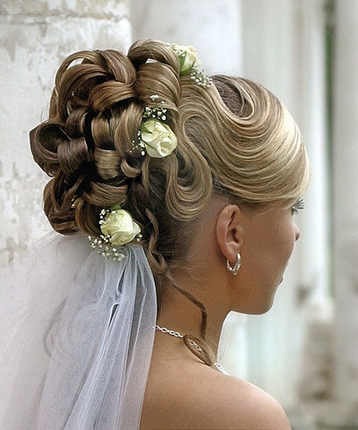 elegant hairstyles for brides with ornaments hairstyles and hair care