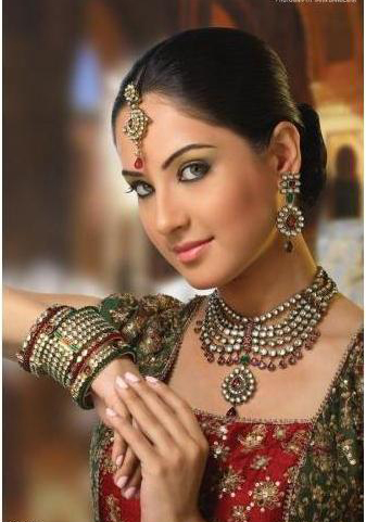 kundan bridal jewelery set