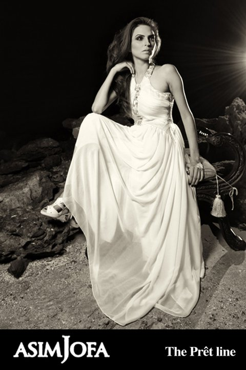 latest white gown from asif jofas collection