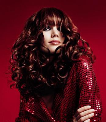 long red hair with beautiful curls hairstyles and hair care
