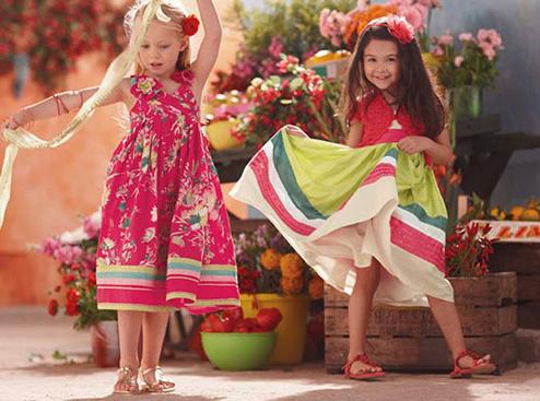 Kidswear By Monsoon Children Summer Spring Collection 2011