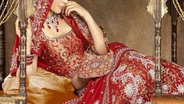 Bridal Red Wedding Lehenga(1)