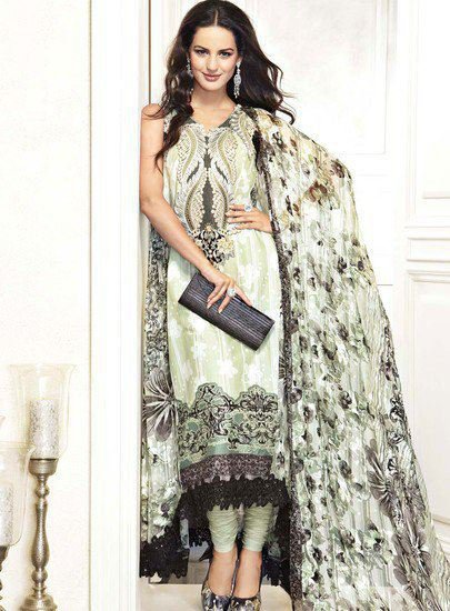 Latest Clothes For Eid For Women by Gul Ahmed 2011