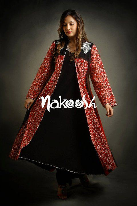 Nakoosh Summer Embroidered Clothes For Women
