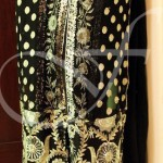 black kameez with churi daar 653