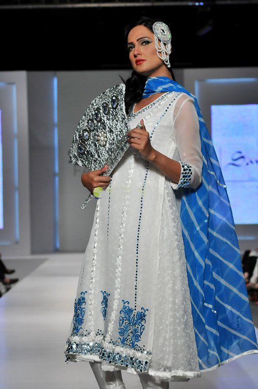 chaand begum collection in fashion week