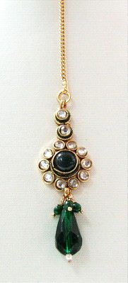 green tikka jewellery