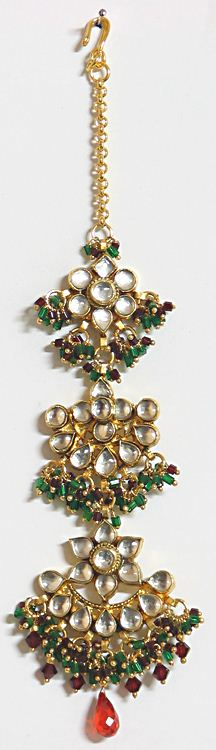 kundan maang tikka designs trends jewellery