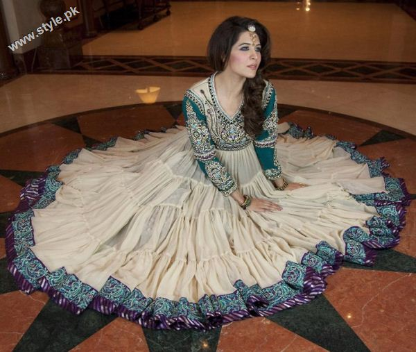 latest collection of zahra ahmed designer dresses