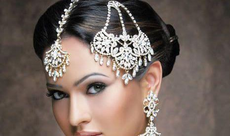 silver tikka bridal trends jewellery