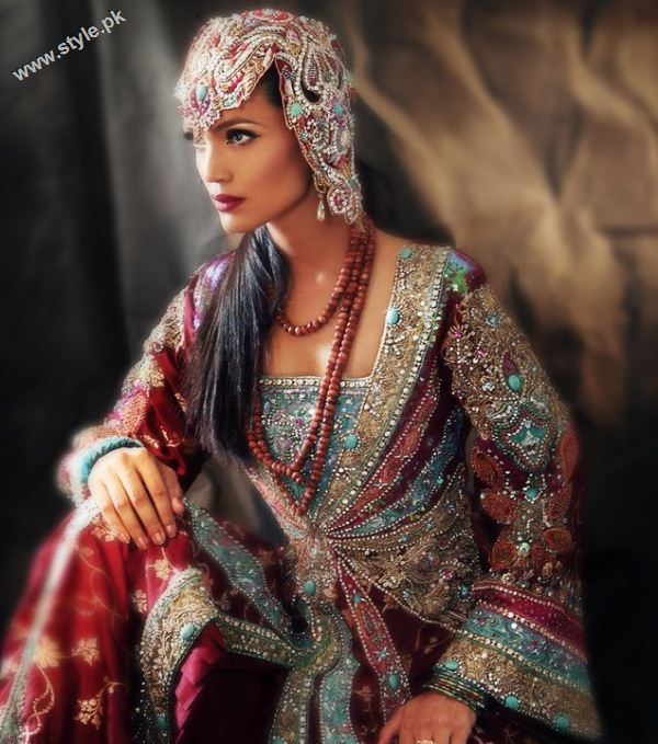 zahra ahmed latest collection 2011 for girls designer dresses