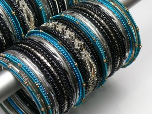 Ferozi glass bangles