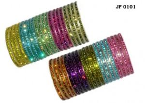 Glitter bangles
