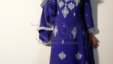 Blue Formal Dress at Dressed to the 9s 001