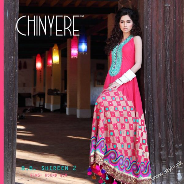 Chinyere Eid Collection 2011 local designer clothes for women chinyere bareeze pakistani brand bareeze pakistani brand