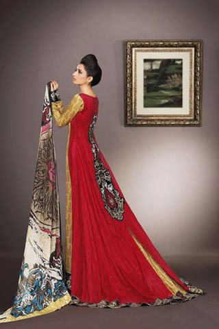 Eid Collection 2011 by Asim Jofa 002 local designer clothes for women asim jofa