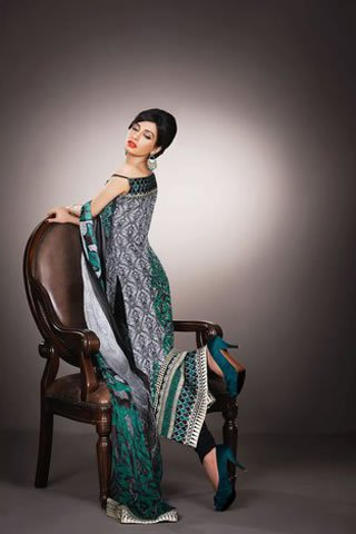Eid Indulgence Lawn Collection by Asim Jofa 008 local designer clothes for women asim jofa
