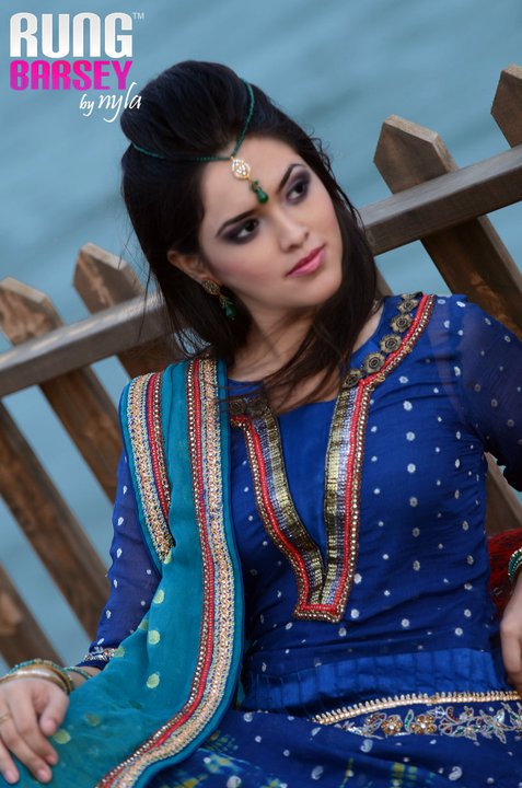 Eid collection of rung barsey by nyla stylepk 002 - Rung barsey by nyla eid collection for women 2011