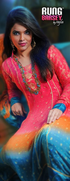 Eid collection of rung barsey by nyla stylepk 005 - Rung barsey by nyla eid collection for women 2011