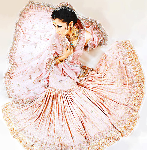 Emboridered Banarsi Gharara For Brides 003