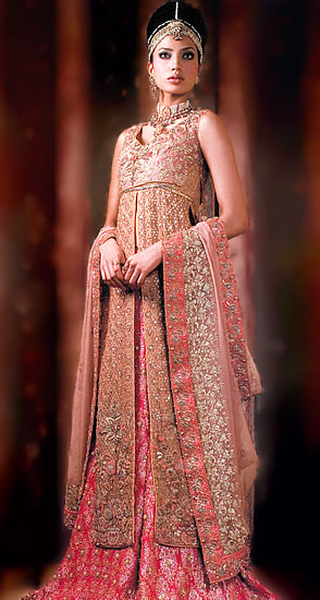 Emboridered Banarsi Gharara For Brides 005